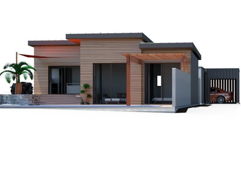 Maison ossature bois 80m²